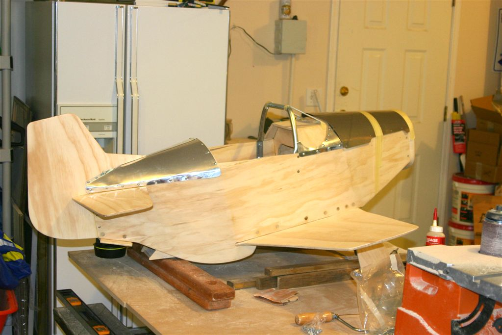 P 51 Mustang Pedal Plane For Allister